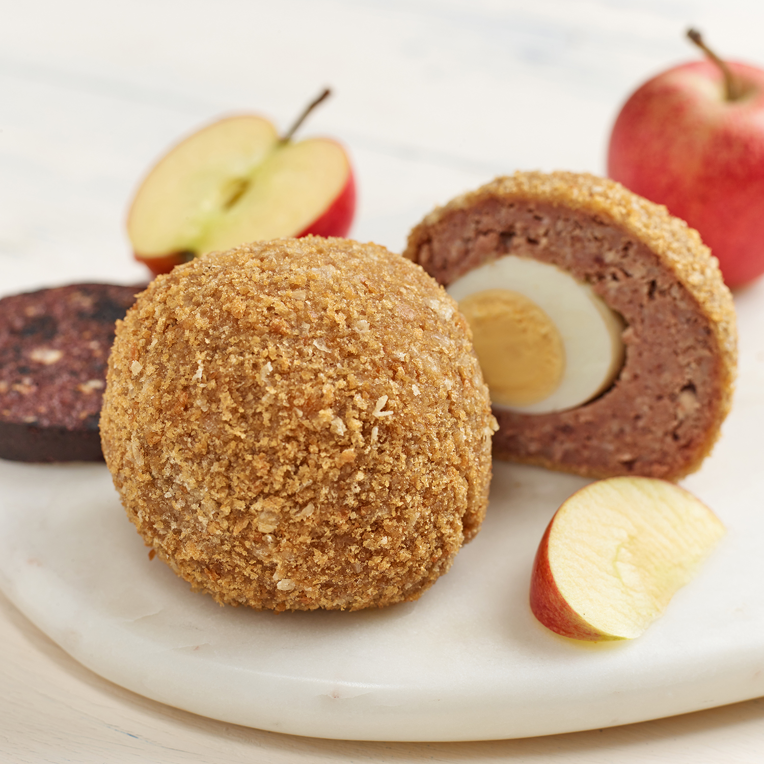 Black Pudding & Apple