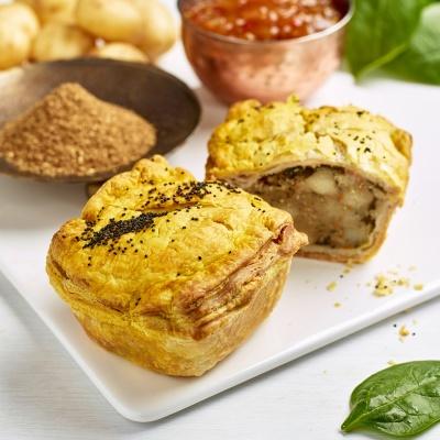 Bombay Pie (Vegan)
